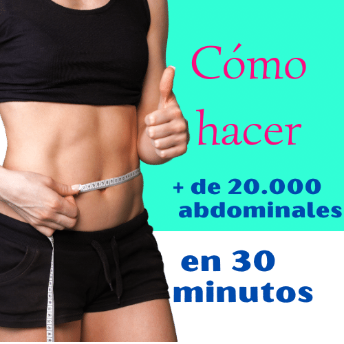 Abdominales de «chocolate»